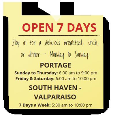 Kid Friendly Restaurants Valparaiso